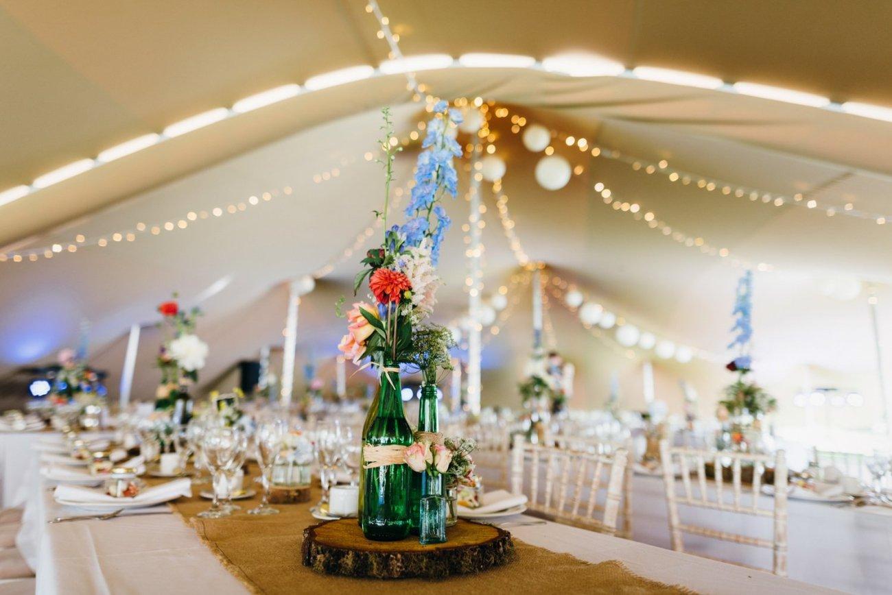 Beautiful rustic Wedding Tipi style