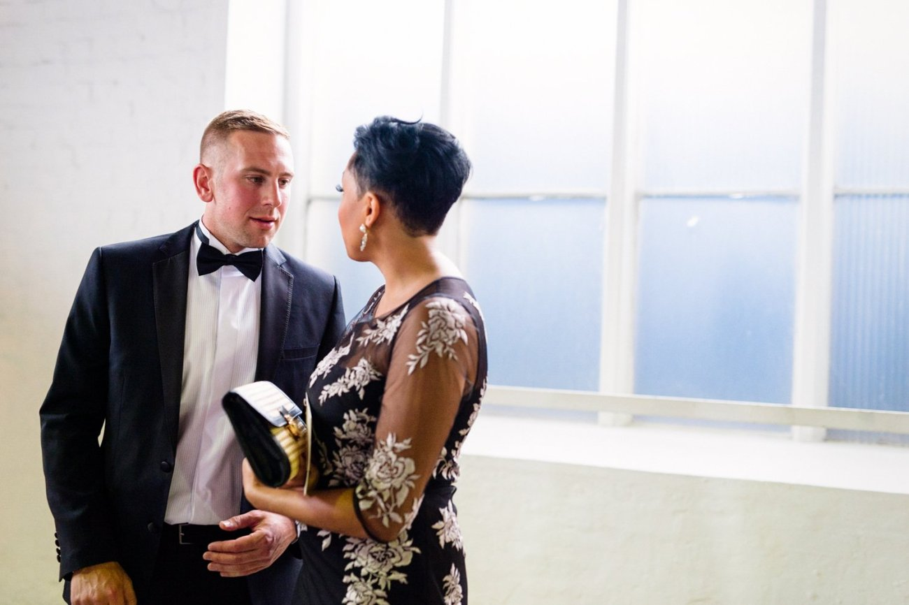 glamorous London wedding photo