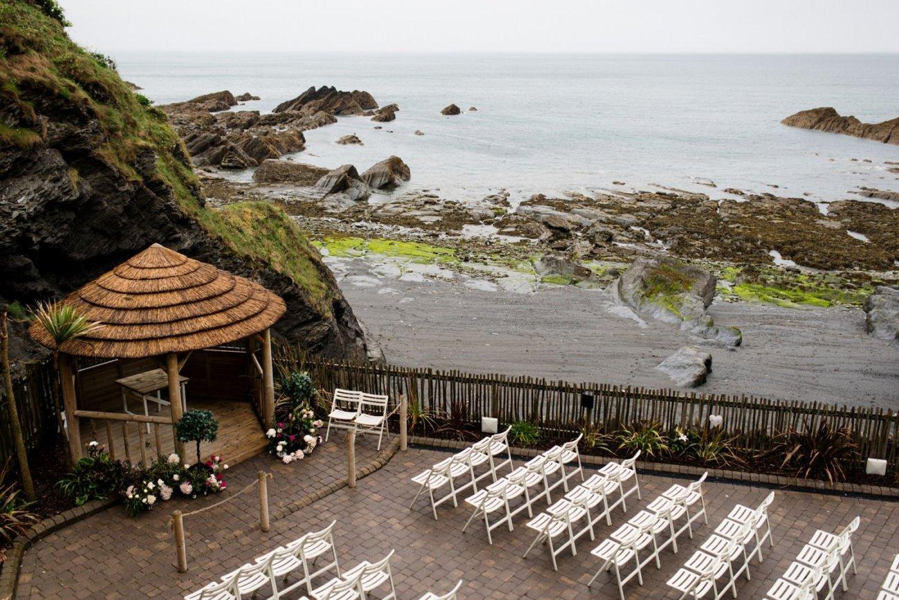 Tunnels Beaches Wedding ceremony Devon