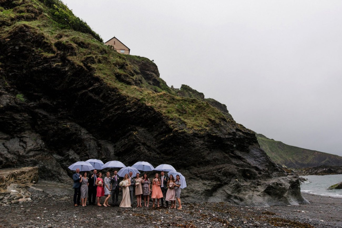 Rainy Tunnels Beach Devon Babb Photo
