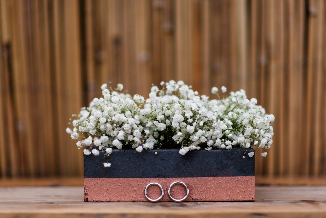 Gypsophila floral wedding display London