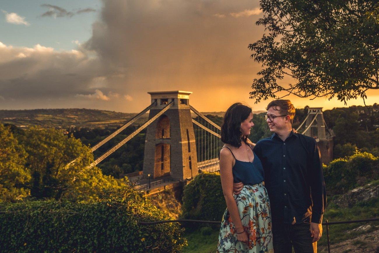 bristol engagement photography