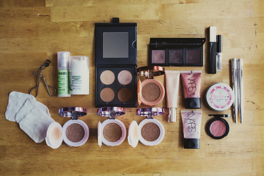 wedding make up trial