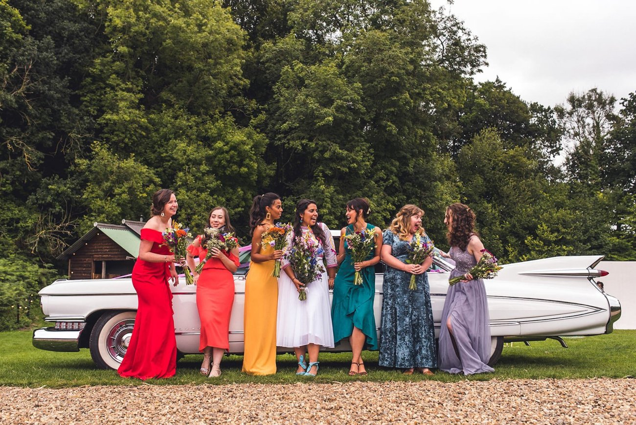 rainbow wedding keeper and the dell norfolk