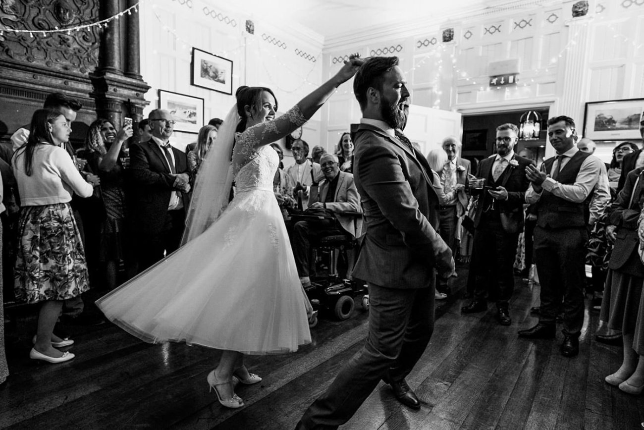 Homme House Wedding Photography first dance