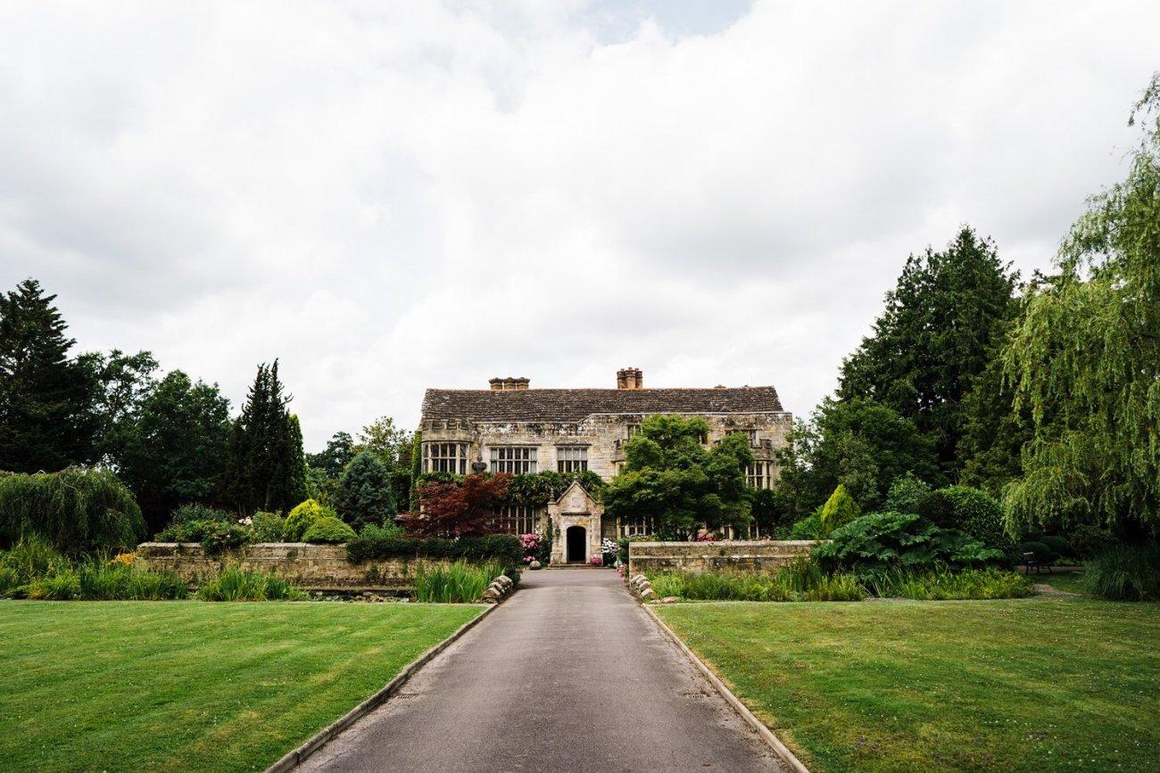 Jacobean manor house Smallfield Place Wedding