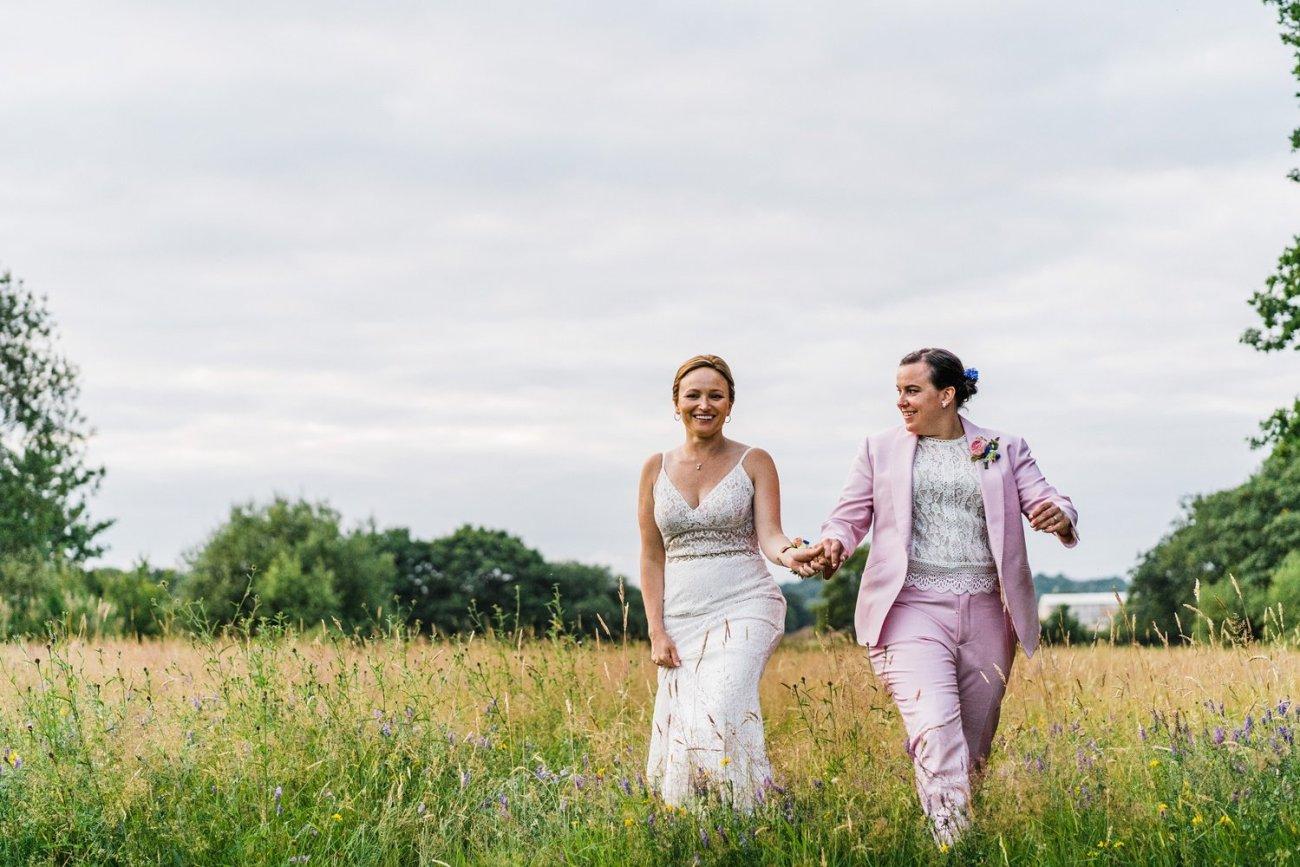 Lesbian smallfield place wedding