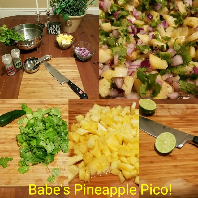 Babe In The Pines Pineapple Pico