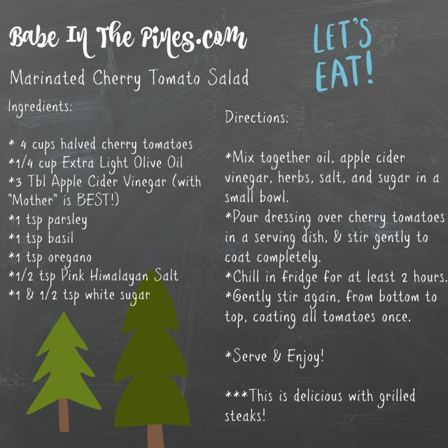 Babe In The Pines Picnic In The Pines Recipe