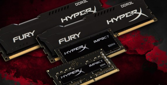 HyperX Releases Additions to FURY DRAM