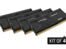 HyperX Releases High-Capacity Savage and Predator DDR4 Memory