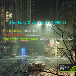 Driver Performance Evaluation Featuring the Fury X vs. the GTX 980 Ti