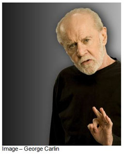 """That's what your house is, a place to keep your stuff while you go out and get...more stuff! Sometimes you gotta move, gotta get a bigger house. Why? No room for your stuff anymore."" -- George Carlin, 1937-2008"