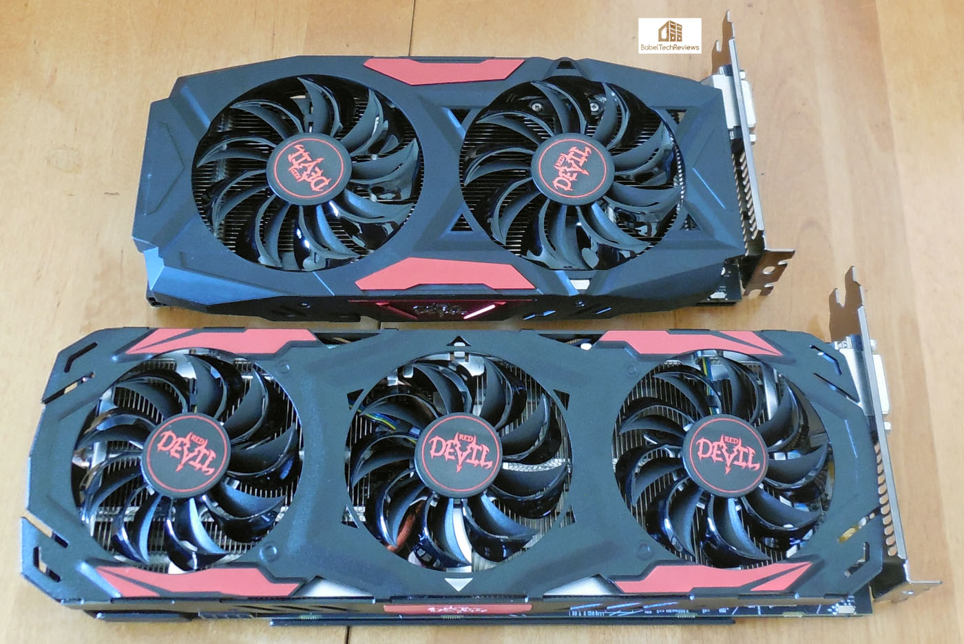 The Red Devil RX 480's