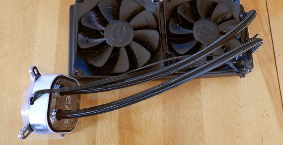 The EVGA Closed Loop CPU Cooler (CLC) 280 Review