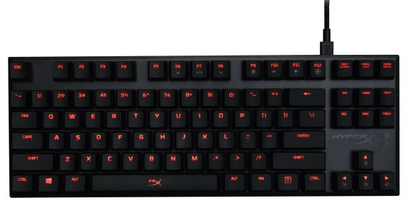 HyperX Alloy Mechanical Gaming Keyboards Revealed