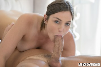 Vixen Pepper Xo in Young Babysitter Seduces Dad with Christian Clay 9