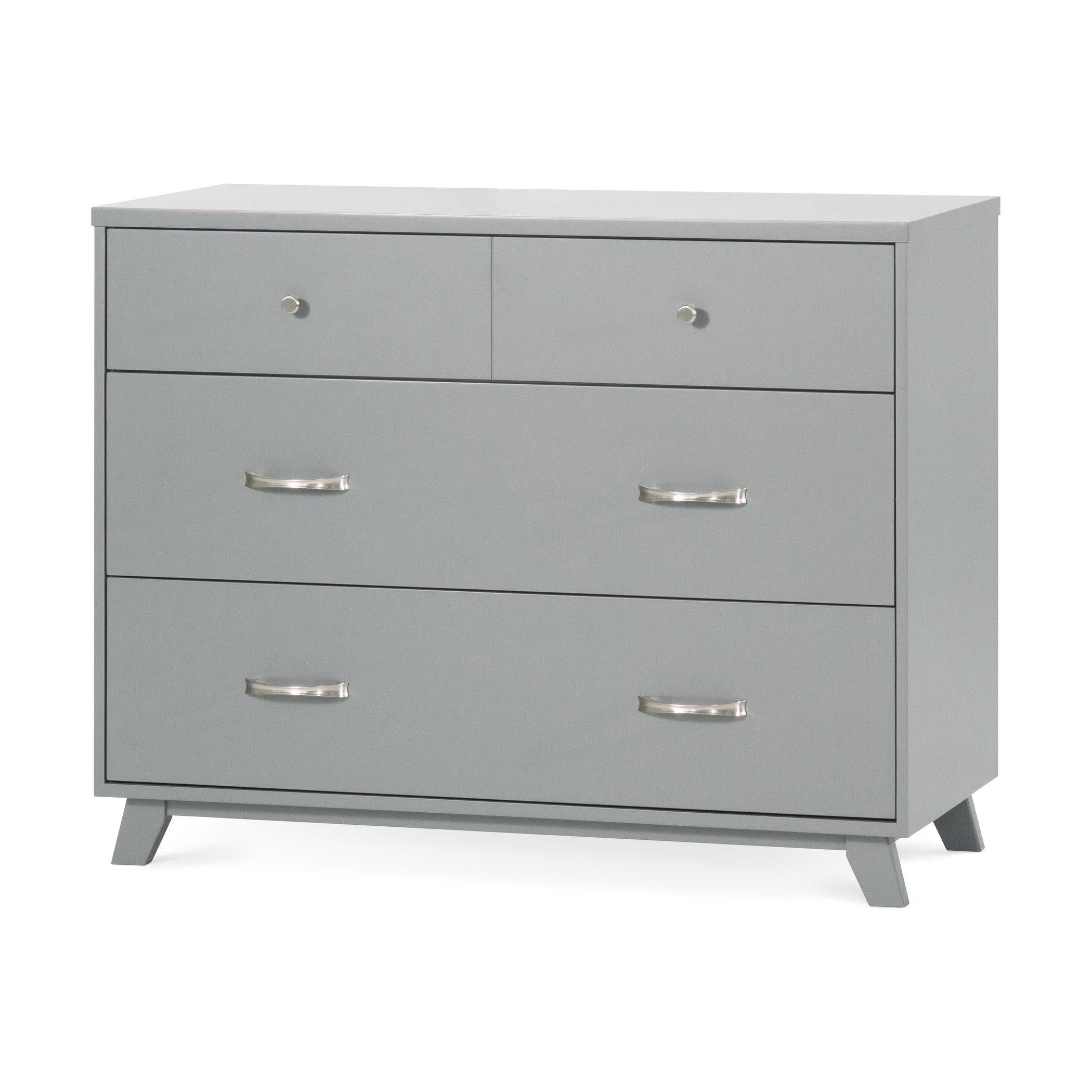child craft forever eclectic soho 3 drawer dresser gray