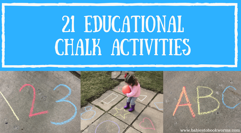 21 Chalk Activities for Summer Learning