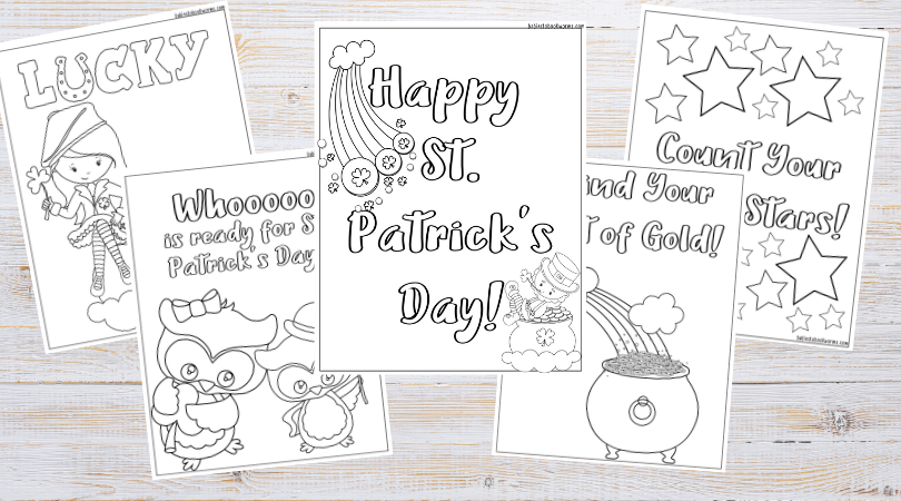 St Patrick S Day Coloring Pages Babies To Bookworms