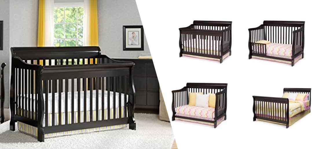 Delta Children Canton 4-in-1 Convertible Crib Review