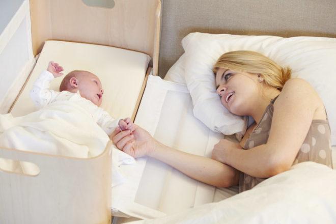 co-sleeping con il bebè