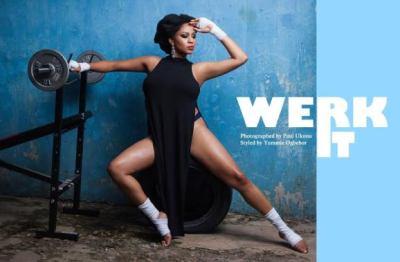 Munachi Abii 'Werk It' For Ghoste Magazine