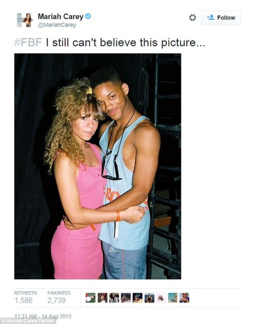 Check Out Throwback Photo Of Mariah Carey,WIll Smith & Jay Z