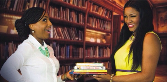 Guess What Omotola Jalade Ekeinde & Dakore Akande Are Up To...