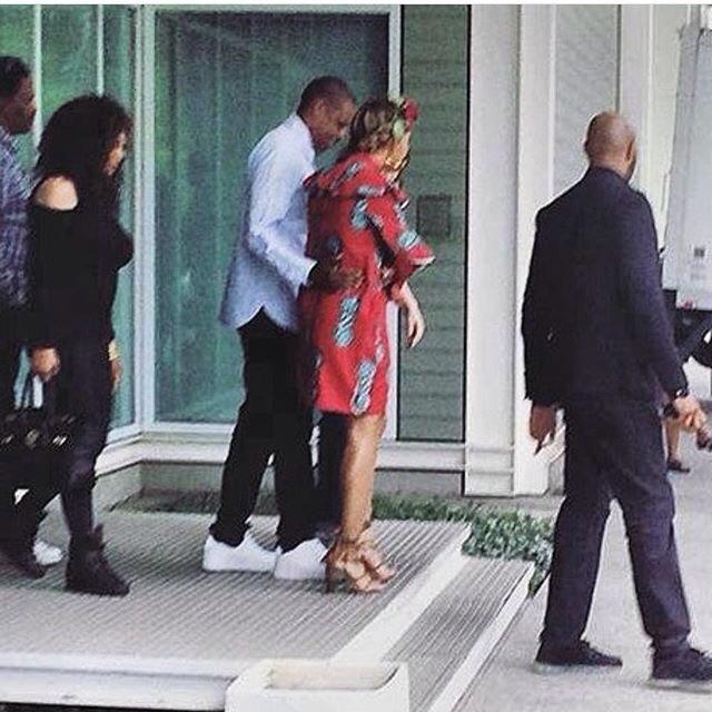 Beyonce Looking Lovely In Ankara