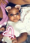 Check Out Adorable Photo Of Davido's Daughter,Hailey