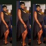 Osas Ajibade Debut Baby Bump