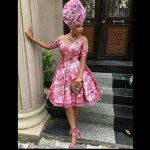 Toke Makinwa Kills It In This Bridesmaid Attire