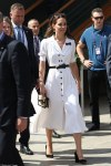 Duchess of Cambridge stuns in white at Wimbledon
