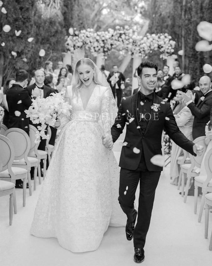 Check Out Sophie Turner and Joe Jonas Wedding Photo