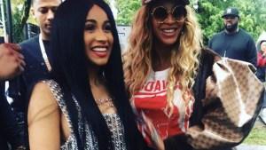 Cardi B and Beyonce