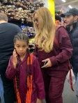 Beyonce and Blue Ivy rock matching outfits