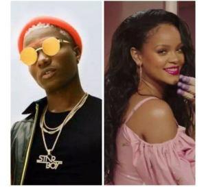 Wizkid and Rihanna