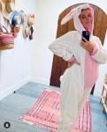 Katy Perry in a cute bunny onesie