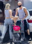 Miley Cyrus and Cody Simpson spotted shopping in Calabasas