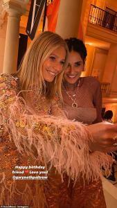 "Gwyneth Paltrow celebrate 48th birthday in her ""birthday suit"""