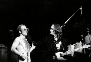 Elton John and John Lennon