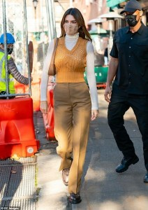 Kendall Jenner's Not-so-American Style in New York