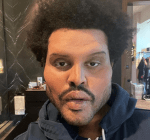 The Weeknd's face in his new music video have people talking