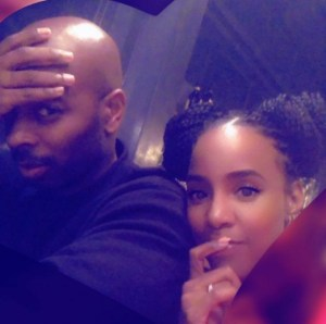 Kelly Rowland and Tim Weatherspoon