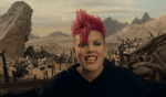 Check out P!nk's new music video
