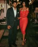 Ciara stuns in Dolce & Gabbana