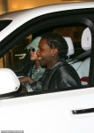 Rihanna and A$AP Rocky spotted at a studio in New York City