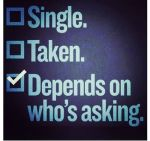 Questions single people ask about their status