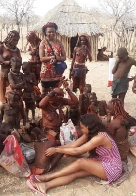 Big Brother Winner,Dillish Mathews Embraces Her 'Himba' Culture
